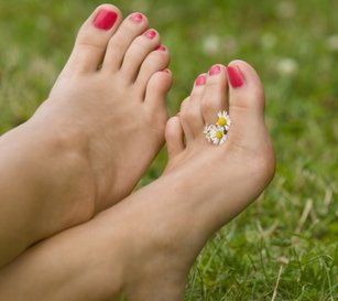 Tired feet? Treat yourself to a pedicure!